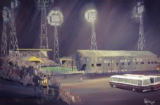 Hull - Boothferry Park 1970's - 20'' x 30'' approx poster print